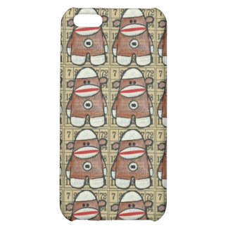 Infinity Sock Monkey iPhone Case Case For iPhone 5C