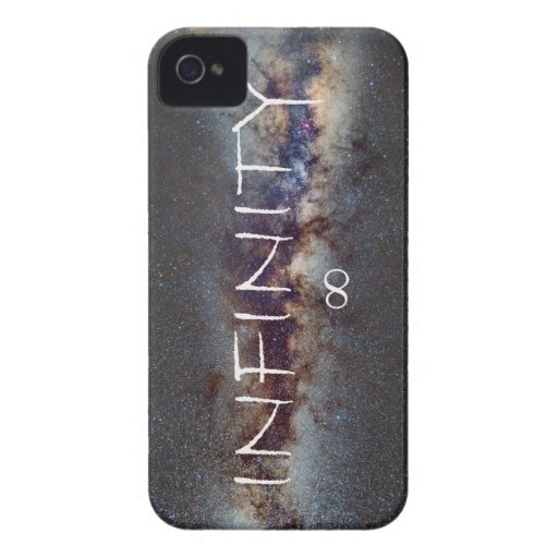 INFINITY STARS IN THE MILKY WAY ∞ iPhone 4 Case-Mate CASES