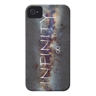 INFINITY STARS IN THE MILKY WAY ∞ iPhone 4 COVER