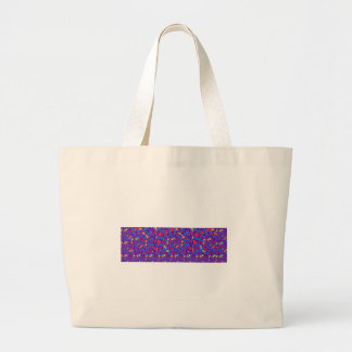 Infinity Strip TEMPLATE add text image move up dow Jumbo Tote Bag