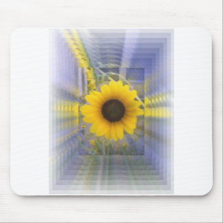 Infinity Sunflower Mousepads