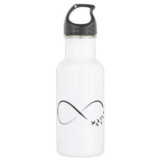 Infinity  swallow symbol 532 ml water bottle