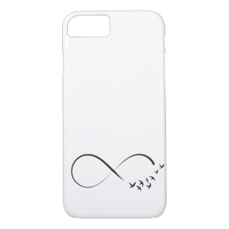 Infinity  swallow symbol iPhone 8/7 case