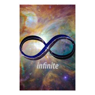 Infinity Symbol Customized Stationery