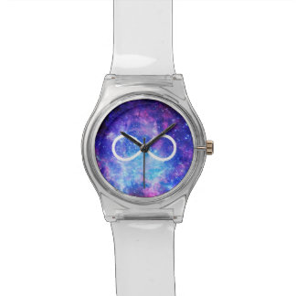 Infinity symbol nebula watch