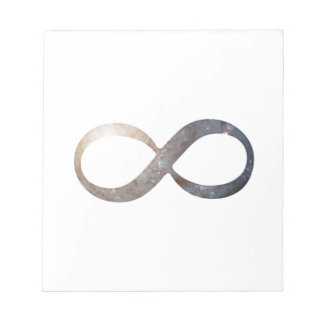 Infinity Symbol Notepads
