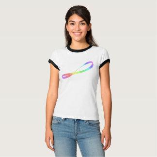 Infinity Symbol, Rainbow Mobius Band T-Shirt