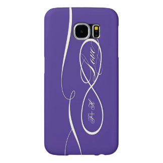 Infinity Symbol Sign Infinite Love Personalized Samsung Galaxy S6 Cases
