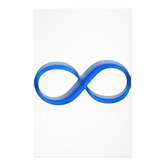 Infinity Symbol Stationery Design