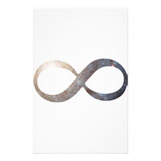 Infinity Symbol Stationery Paper