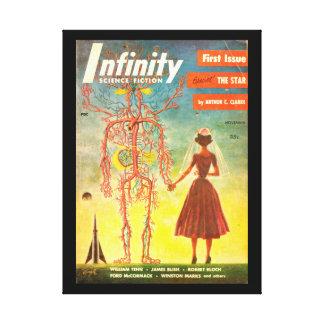 Infinity v01 n01 (1955-11.Royal)_Pulp Art Canvas Print