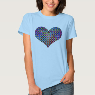 Infinte Squaredom Psychedelic Heart T-Shirt