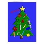 Infirmière/cartes et cadeaux de Noël médicaux de p