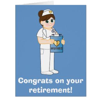 Infirmière : Félicitations sur votre grande carte