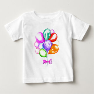 Inflatable Colorful Balloons Baby T-Shirt