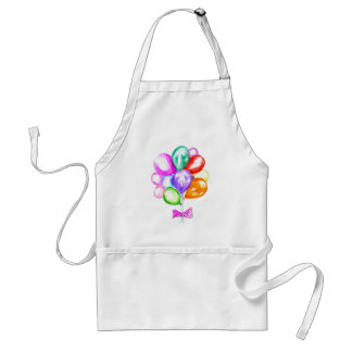 Inflatable Colorful Balloons Standard Apron