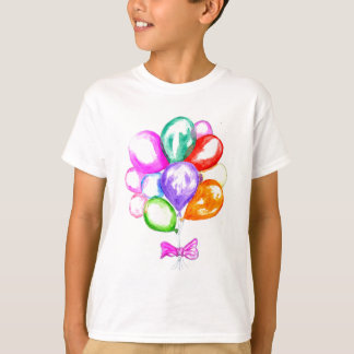 Inflatable Colorful Balloons T-Shirt