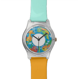 Inflatable Swim Ring Style Aqua Adjustable Watch