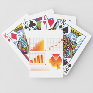 info graphic bicycle playing cards