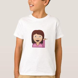 Information Desk Person Emoji T-Shirt