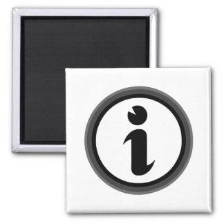 Information Symbol Magnet