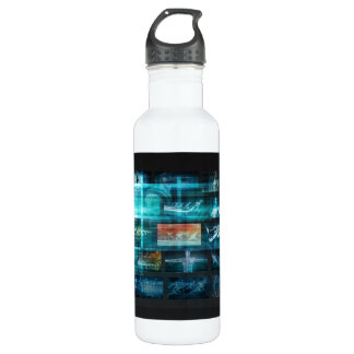 Information Technology or IT Infotech as a Art 710 Ml Water Bottle