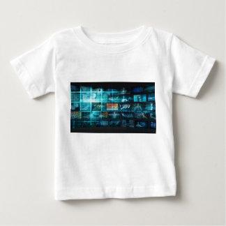 Information Technology or IT Infotech as a Art Baby T-Shirt