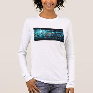 Information Technology or IT Infotech as a Art Long Sleeve T-Shirt