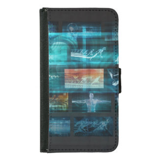 Information Technology or IT Infotech as a Art Samsung Galaxy S5 Wallet Case