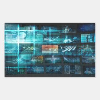 Information Technology or IT Infotech as a Art Sticker