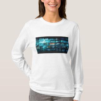 Information Technology or IT Infotech as a Art T-Shirt
