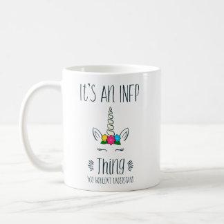 INFP Thing Unicorn Coffee Mug