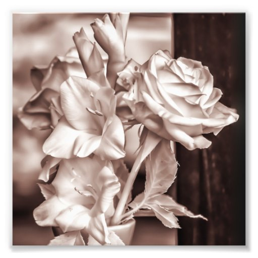 Infrared Bouquet Photographic Print