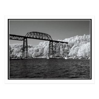 Infrared Bridge Postcard