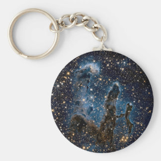 Infrared Eagle Nebula Pillars of Creation Keychain