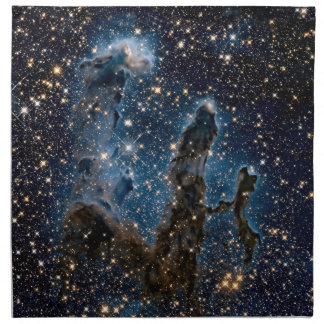 Infrared Eagle Nebula Pillars of Creation Napkin