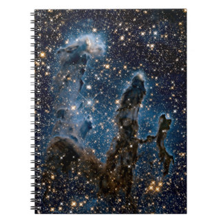 Infrared Eagle Nebula Pillars of Creation Notebook