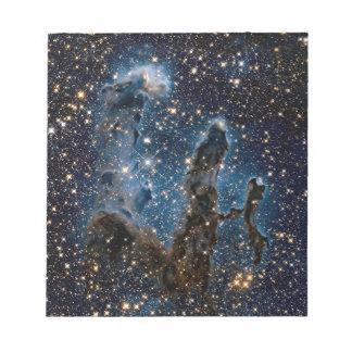 Infrared Eagle Nebula Pillars of Creation Notepad
