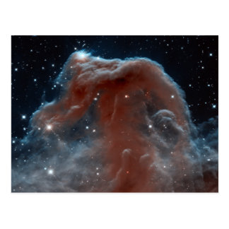 Infrared Horsehead Nebula Postcard