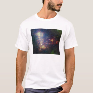 Infrared portrait revealing the stars and dust T-Shirt