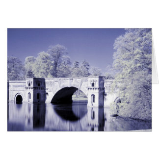 Infrared, The Grand Bridge, Blenheim Palace, Card