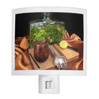 Infused Mint Rum and Cola with Lime Night Light