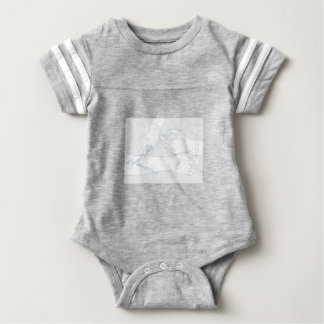 Infusion Therapy Diagram Mono Line Baby Bodysuit