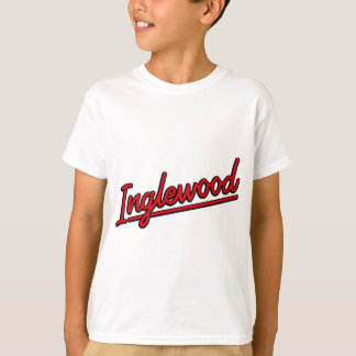 Inglewood in red T-Shirt