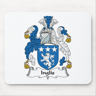 Inglis Family Crest Mouse Pad