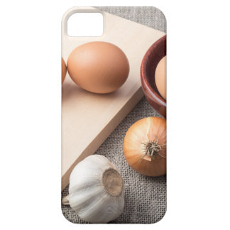 Ingredients for cooking in retro style iPhone 5 covers