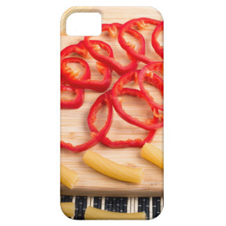 Ingredients for cooking on the kitchen table iPhone 5 case