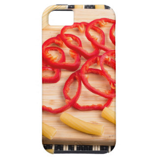Ingredients for cooking on the kitchen table iPhone 5 covers