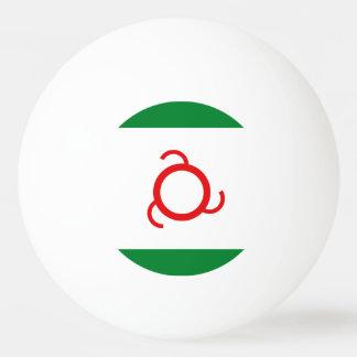 Ingushetia Flag Ping Pong Ball
