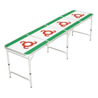 Ingushetia Flag Pong Table